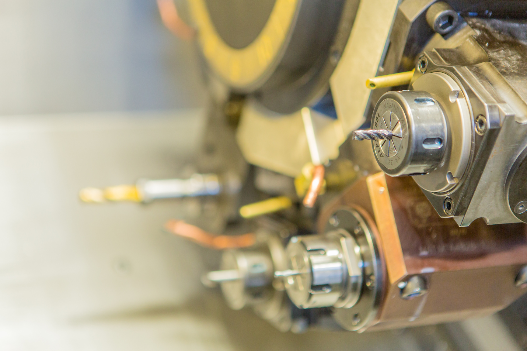 Twin Spindle Live-tooling Lathe